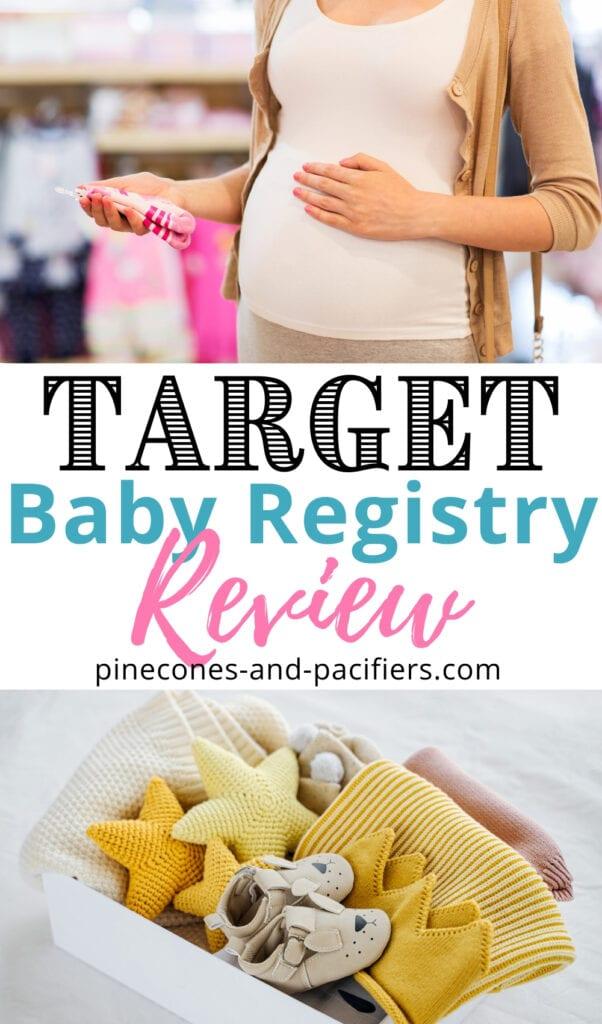 Target Baby Registry Review - Pinecones & Pacifiers
